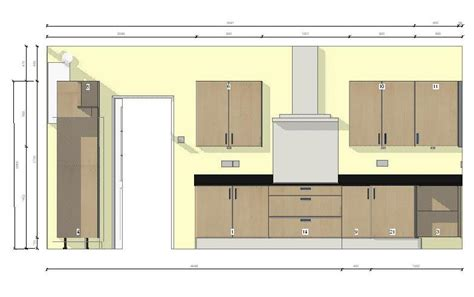 Kitchen Regulations by Designer Fitted Kitchen In Oak Gloss Lacquer