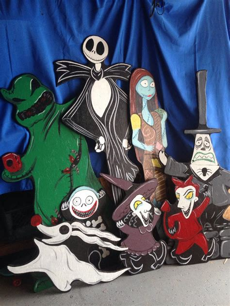 nightmare before yard decorations nightmare before lawn decorations by