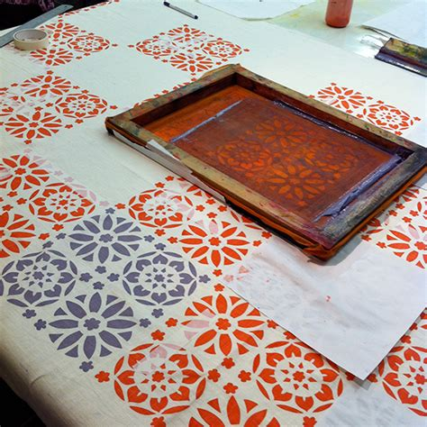 how to print images on fabric screenprinting silversoles emma jackson