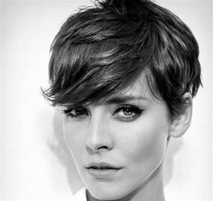 Coupe Courte 2017 : tendance coupe courte 2017 coiffure femme coupe courte ~ Melissatoandfro.com Idées de Décoration