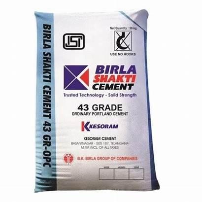 Cement Birla Grade Shakti Opc Bag Packaging