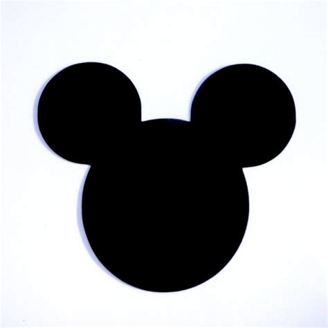 mickey mouse l 4 mickey mouse ears die cut disney s mickey
