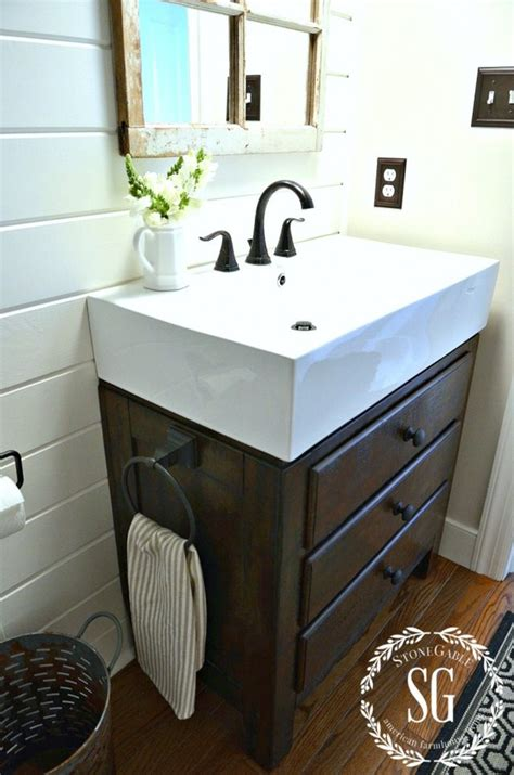 home depot bathroom vanities and diy shiplap projects the budget decorator
