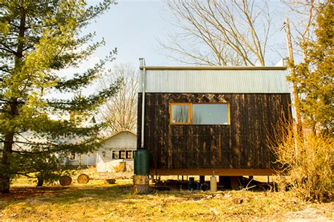 Couple Sharing 320 Sq. Ft. Modern Tiny House