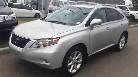 lexus certified pre owned  rx  awd dr silver black