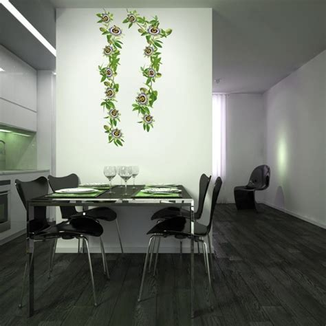 plante cuisine decoration transformez votre intérieur avec un sticker mural