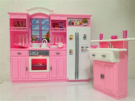 barbie size dollhouse furniture  fancy life kitchen
