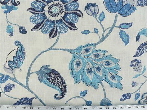 dr09 brown drapery upholstery fabric mottled floral leaf design on