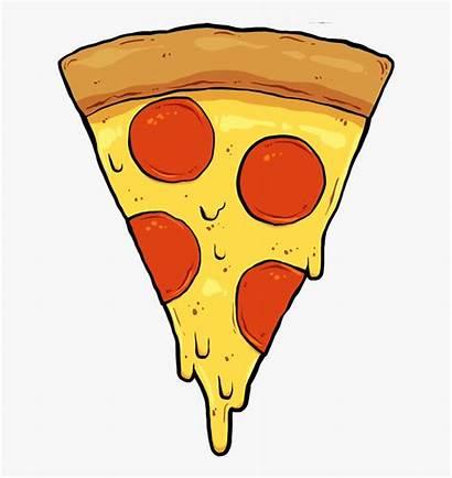Pizza Slice Clip Drawings Sticker Cartoon Sketchbook