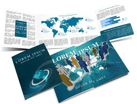 Gate Fold Brochure Mockup Cover Actions Premium Gate Fold Brochure Mockup Cover Actions Premium