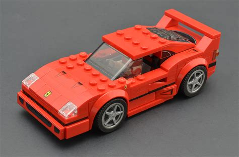 F40 Lego Zusammenbau by Lego Speed Chions 75890 F40 Competizione Review
