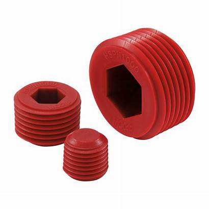 Plugs Npt Hex Socket Hspn Threads Plastic