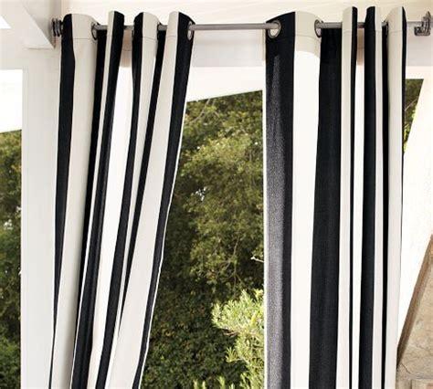 sunbrella r indoor outdoor grommet drape
