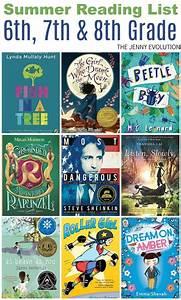 Summer Reading List 6th Grade  7th Grade  U0026 8th Grade