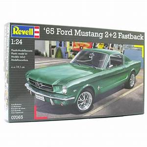 Revell 1:24 1965 Ford Mustang 2+2 Fastback Model Car Kit - Revell from Jumblies Models UK
