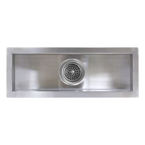 stainless steel trough sink 22 quot executive zero radius stainless steel curved basin