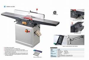 Wood Jointer Planer PDF Woodworking