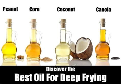 frying oil deep healthiest oils cooking fryer coconut healthy kitchensanity food