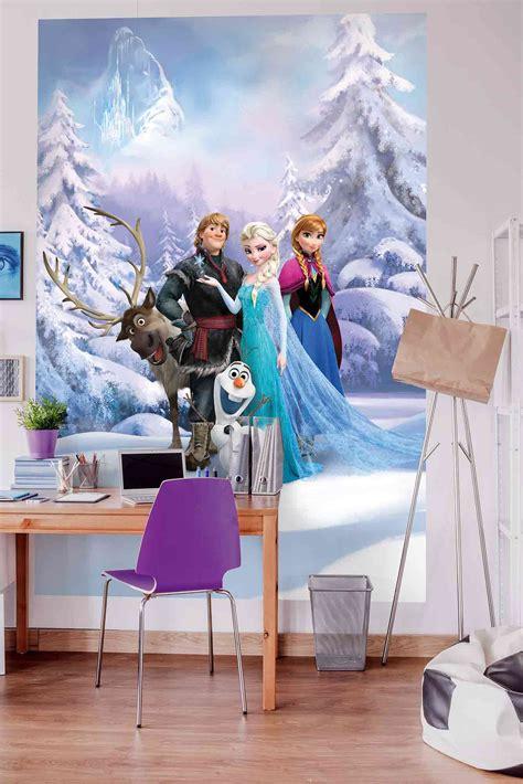Kinderzimmer Mädchen Elsa by Disney Elsa Frozen Forest Winter Land Fototapete