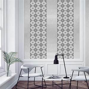Papier Peint Carreau Ciment : papier peint carreaux de ciment jos phine ~ Melissatoandfro.com Idées de Décoration