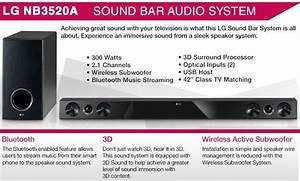 Lg Nb3520a Sound Bar Speaker System