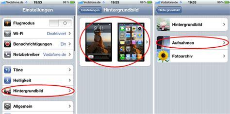 iphone hintergrundbild aendern