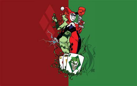 Gotham City Sirens Wallpaper Hd Poison Ivy Wallpaper Hd Wallpapersafari