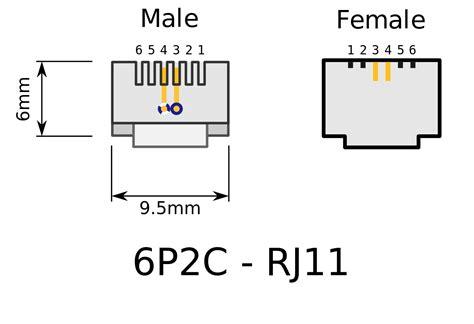 Rj11 Connector Wiring Diagram by Wrg 7489 Rj11 4 Pin Wiring Diagram