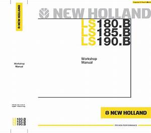 New Holland Ls180 B Ls185 B Ls190 B Workshop Manual Pdf