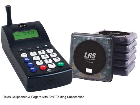 cell pager kit long range systems guest paging kits