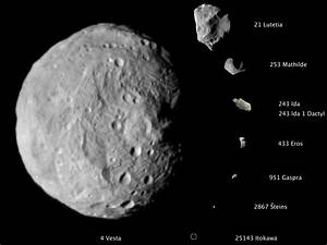 NASA - NASA Dawn Spacecraft Returns Close-Up Image of Vesta