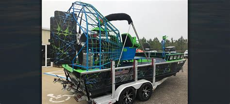 airboat custom pb airboats preowned