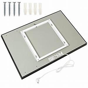 Heizung Größe Berechnen : tectake spiegel infrarotheizung spiegelheizung 650 watt esg glas elektroheizung infrarot ~ Themetempest.com Abrechnung