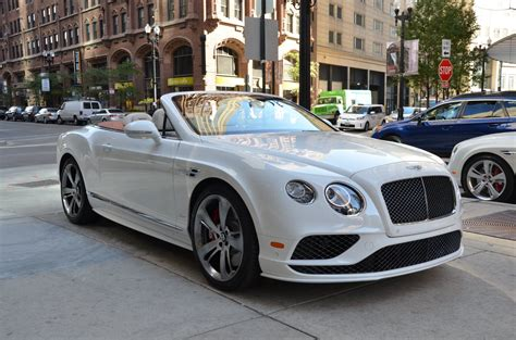 2017 Bentley Continental Gtc Speed Stock # B831 For Sale