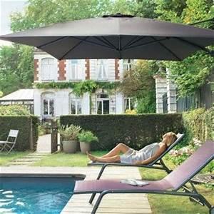 Jardiland Parasol Déporté : parasol deport royal grey 3x4 m l 39 unit ext rieur ~ Premium-room.com Idées de Décoration