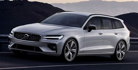 new 2019 volvo v60 2019 volvo v60 r design launches with 163 35 410 price tag
