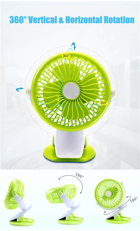 ventilateur bureau vvcare bc sf001 clip on ventilateur usb clip sur bureau