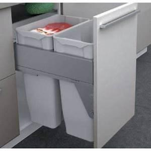 Meuble Poubelle Cuisine : poubelle pour caisson meuble de cuisine bas tout pour une ~ Dallasstarsshop.com Idées de Décoration