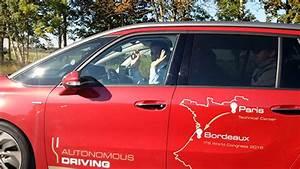 Trajet Paris Bordeaux : v hicules autonomes un trajet de 580km pour la c4 picasso blog kelrobot ~ Maxctalentgroup.com Avis de Voitures