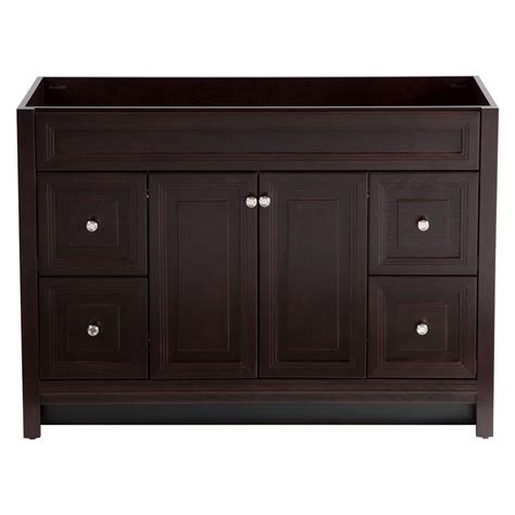 Vanity Cabinet Only by Home Decorators Collection Brinkhill 48 In Vanity Cabinet