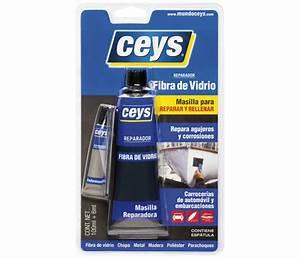 Masilla reparadora Ceys REPARADOR FIBRA DE VIDRIO 100+6ML Ref 10935162 Leroy Merlin
