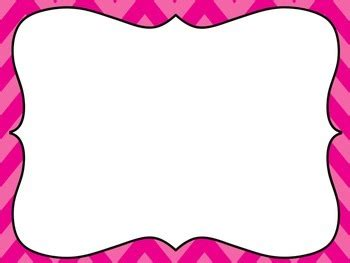 chevron pink powerpoint template  embellished angel
