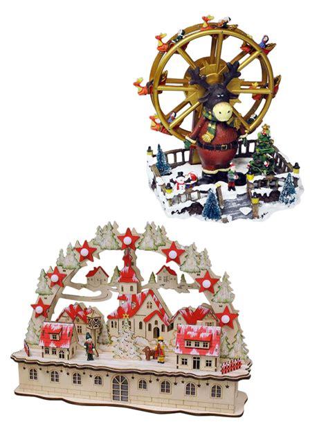 led village scene christmas decoration xmas traditional