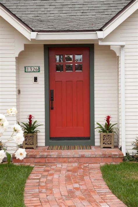 boldly painted front doors   envy   neighborhood