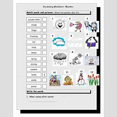 Islcollective Vocabulary Matchingworksheetweather7214d74c38e497fc…