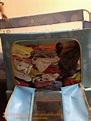 這款收納箱除了前開,還有上開。。。增加了收納的方便性