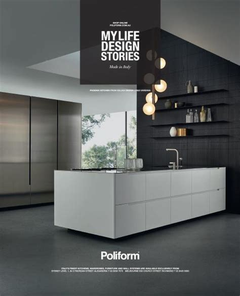 advertising phoenix kitchen poliform australia