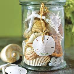 glass kitchen canister seashell container diy how to use seashell souvenirs to decorate your home southern living
