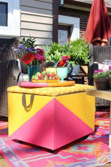 diy backyard decorating ideas 18 diy patio furniture ideas for an outdoor oasis