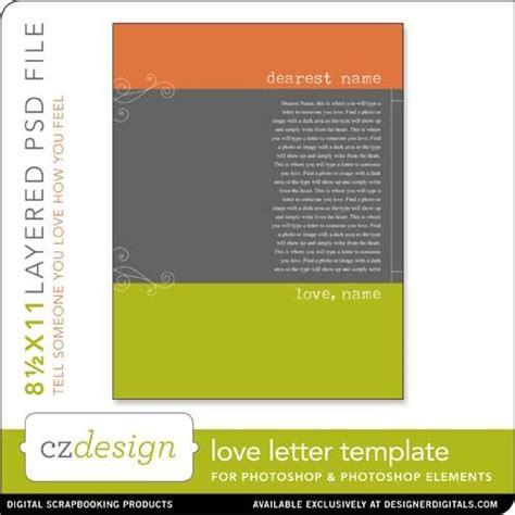 cathy zielskes love letter template digital